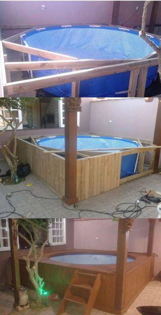 piscina barata e criativa