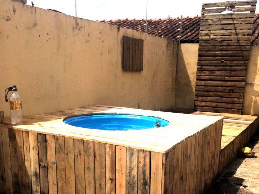 piscina pequena redonda