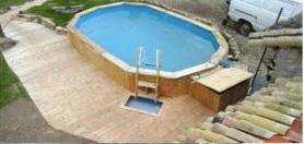 piscina elevada solo