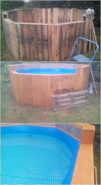 piscina simples e pequena