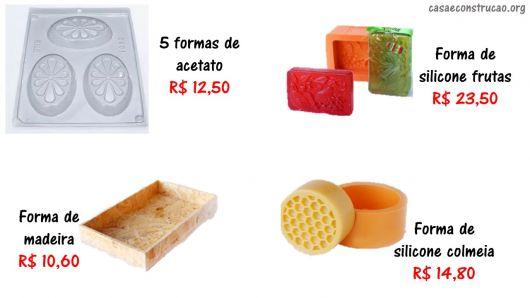 onde comprar formas e moldes