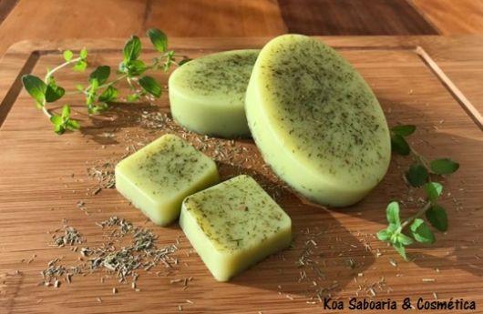 sabonete esfoliante de cidreira