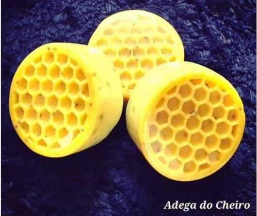 sabonete natural com mel