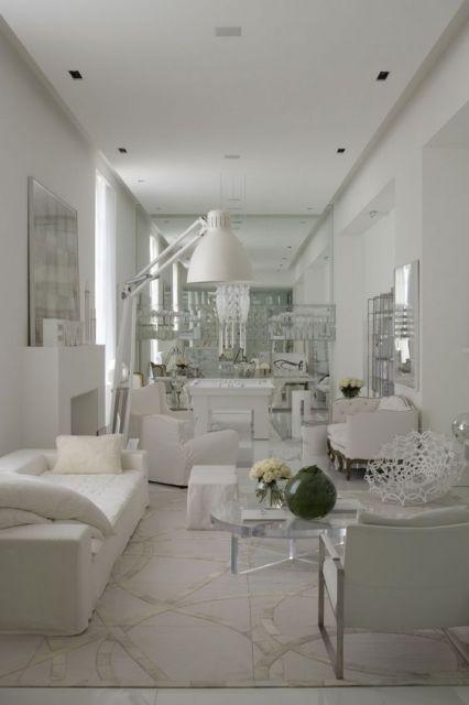 sala moderna e clean