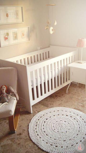 tapete simples quarto bebê