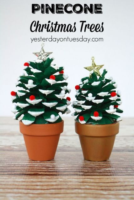 Christmas Tree Tabletop Decorations