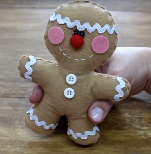 biscoito de feltro