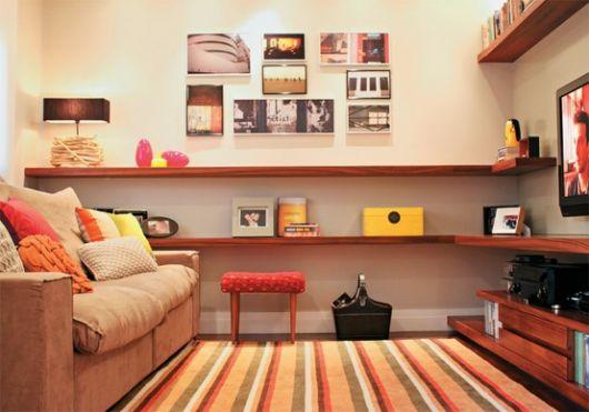 sala simples e muito criativa
