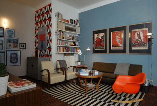 decoração de sala simples e criativa