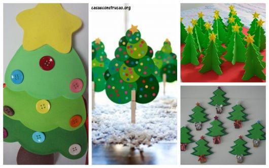 modelos de árvores natalinas