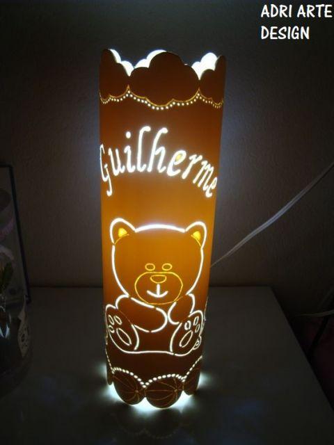 luminária personalizada