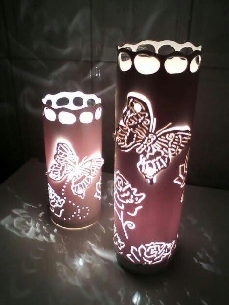 abajur borboleta