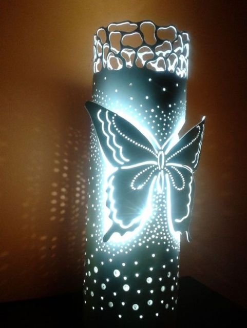 luminária borboleta