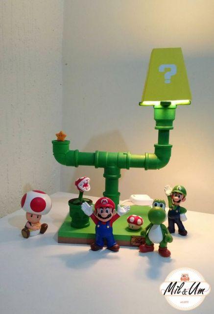 luminária Mário