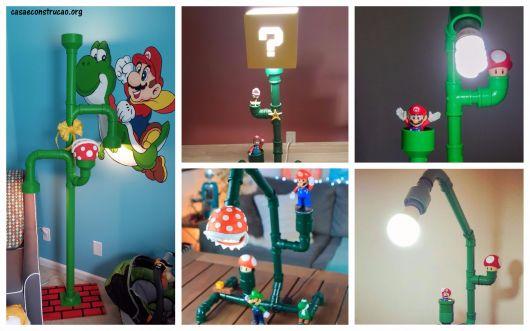 ideias para luminária do Mário Bros