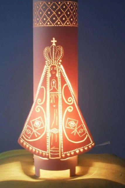 luminária Nossa Senhora Aparecida