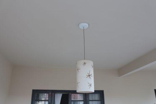luminária de teto