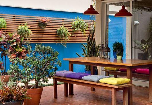 decoração terraço casa