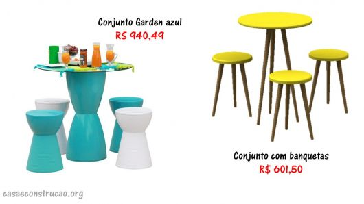 preços mesas coloridas