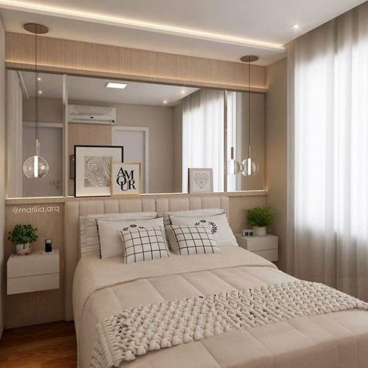 Móveis planejados para quarto veja 30 fotos lindas! -> Como Decorar Quarto De Casal Grande