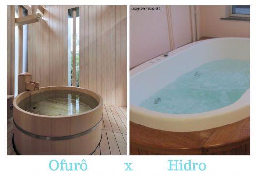 diferença ofurô e hidro