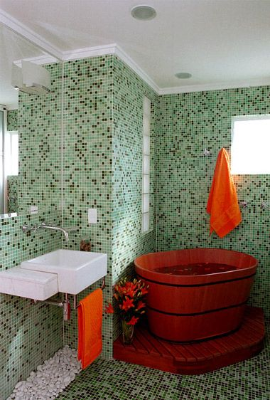 banheiro de pastilhas