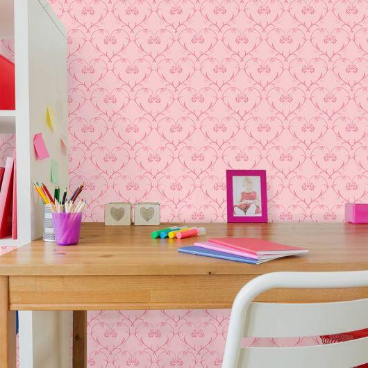 papel de parede arabesco quarto teen