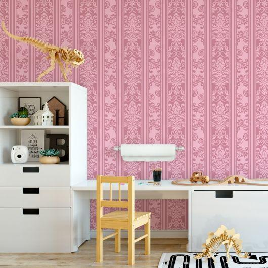 papel de parede arabesco quarto