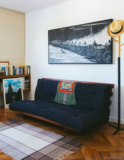 sofá futon de casal
