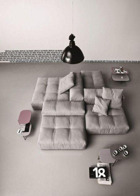sofá futon diferente
