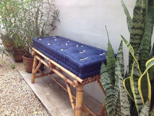 sofá futon jardim