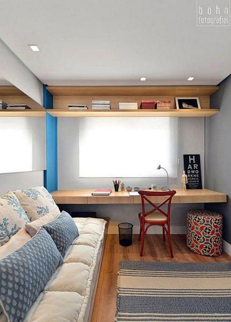 sofá futon quarto