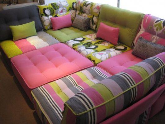 sofá futon módulos