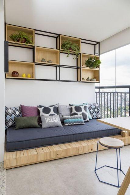 sofá futon palet