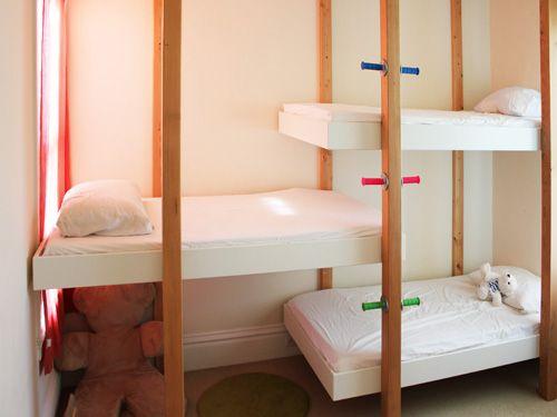 camas suspensas