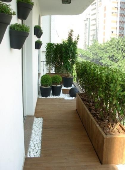 varanda de madeira dicas de plantas