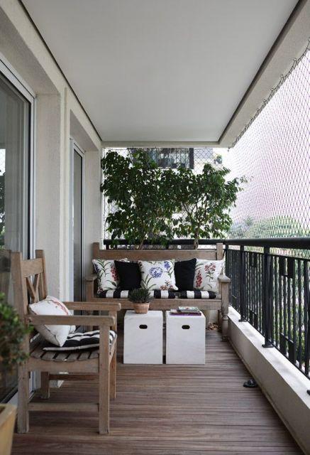 varanda de madeira dicas de cadeira