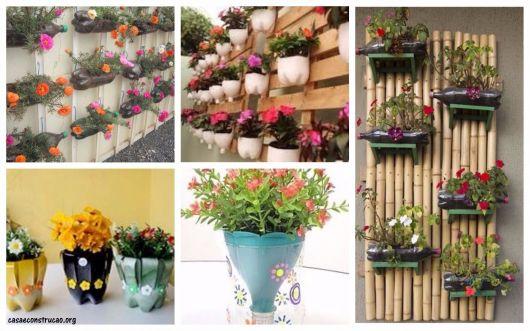 ideias de vasinhos de flores