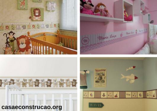 faixas para quarto de bebê
