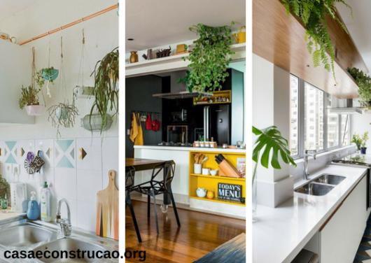 plantas para apartamento em cozinha