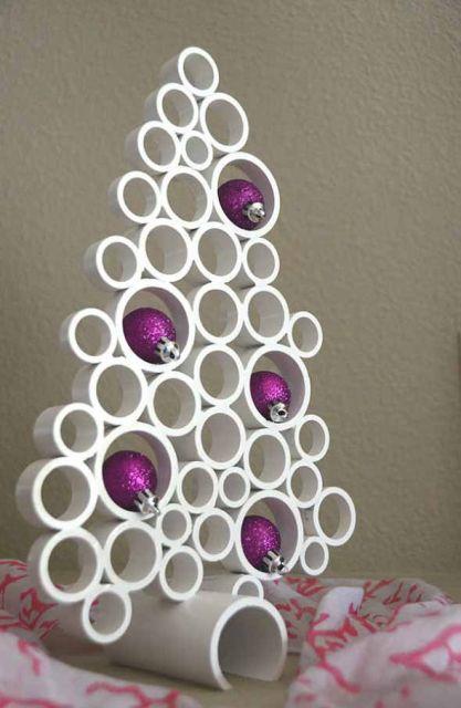 árvore de natal artesanal canos