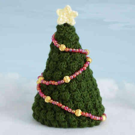 árvore de natal artesanal crochê verde escuro