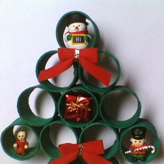 árvore de natal artesanal diferente