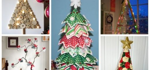 modelos de árvore de natal artesanal