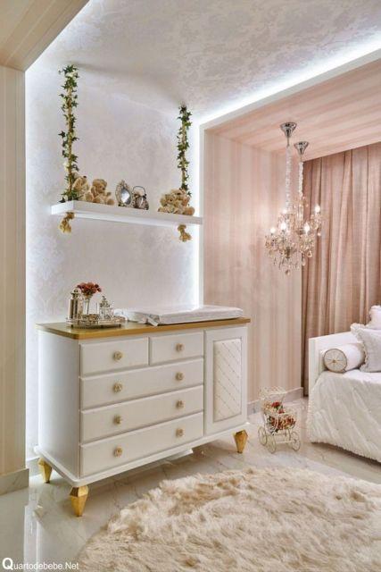 cômoda para quarto de bebê branca