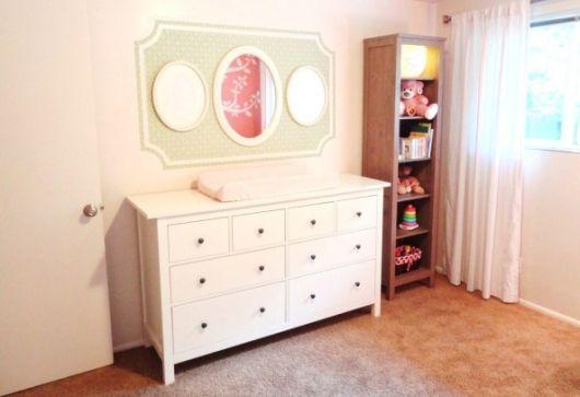 cômoda para quarto de bebê com gavetas