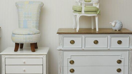 cômoda para quarto de bebê estilo provençal