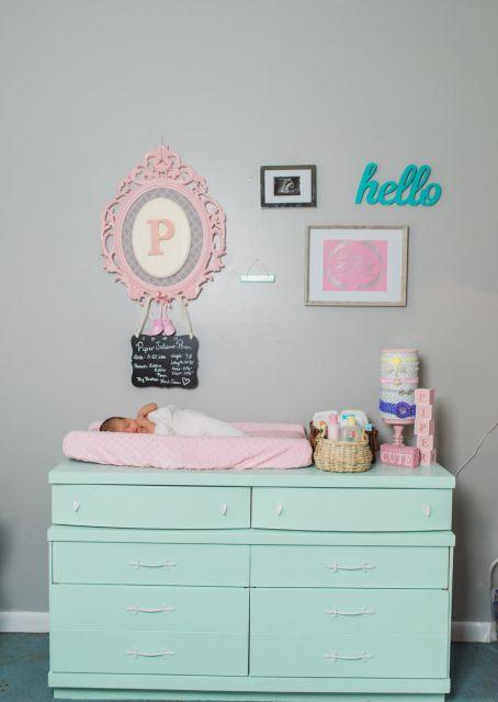 cômoda para quarto de bebê azul bebê