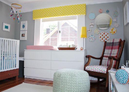 cômoda para quarto de bebê simples