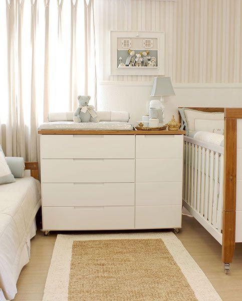 cômoda para quarto de bebê normal